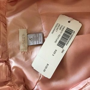 Chico's Jackets & Coats - Chicos Womens Lightweight Jacket Size 3 Large Pink